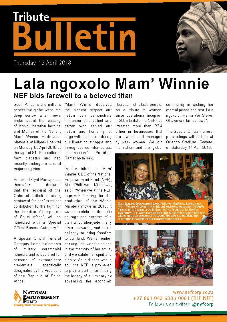 Lala Ngoxolo Mam' Winnie