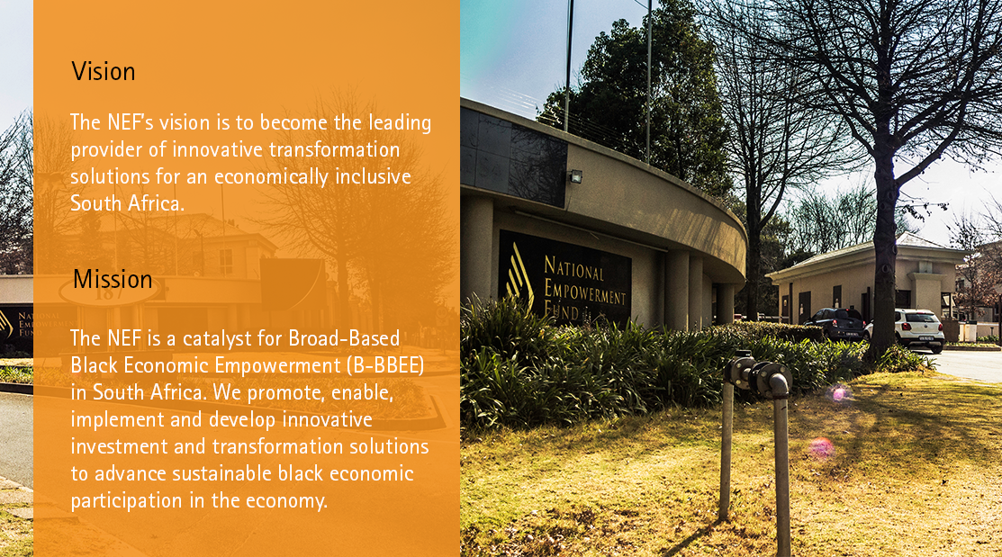 National Empowerment Fund   Growing Black Economic Participation
